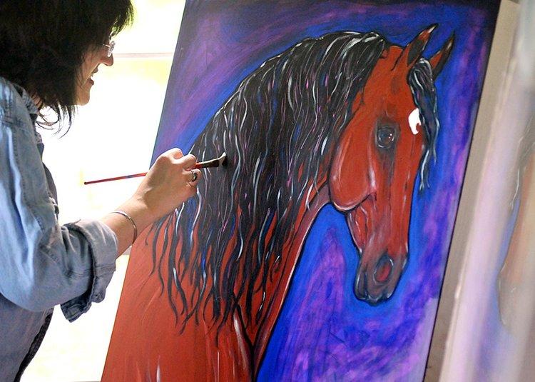 Helen Scanlon, Artist